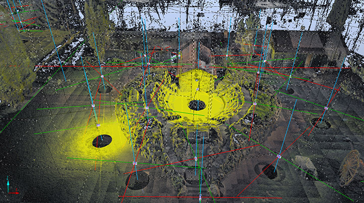 point cloud data point
